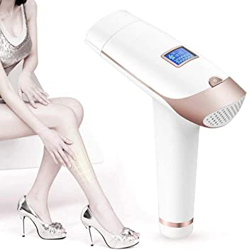 Depiladora Eléctrica, Sistema De Eliminación Vello con Pantalla LCD Rejuvenecimiento Facial De Belleza para Rostro