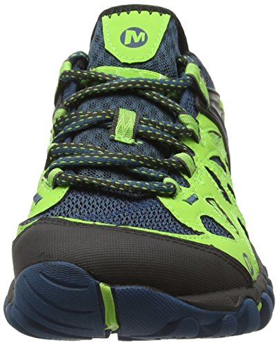 Merrell All Out Blaze Aero Sport - Zapatillas de senderismo Hombre Verde - Vert (Blue/Green)