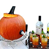Halloween Drink Dispenser Pumpkin Keg - High Durability Stainless Steel Watermelon and Pumpkin Tapping Kit