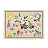 Royal Mexican Fiesta Placemats, Package of 1000