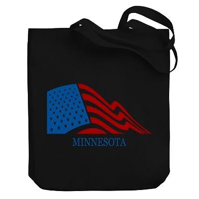 60%OFF Teeburon FLAG USA Minnesota Canvas Tote Bag