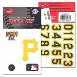 Rawlings MLB Logo Batting Helmet Decals Pirates