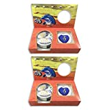 Love Purity Wish Pearl Kit - Harvest Your Own Pearl from a real freshwater Oyster, Comes with Silver Plated Necklace - Great for Gift! (2-Pack)