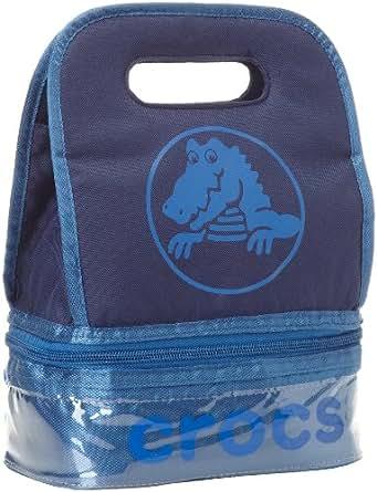 Crocs Little Girls'  Duke Lunch Bag, Navy/Sea Blue, Medium
