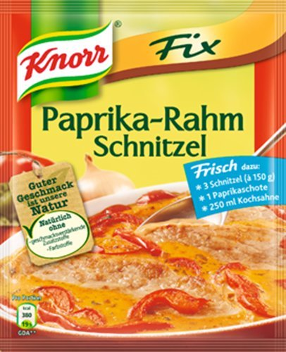 Knorr Fix Paprika Cream Schnitzel (Pack of (Paprika Cream)