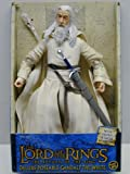 ": Lord Of The Rings ROTK Gandalf The White 12"" Poseable Action Figure (2004 ToyBiz)"