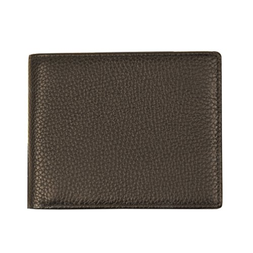 RFID Blocking Slim Bifold Genuine Leather Wallet for Men - Credit Card Protector by Qubel (Image #2)