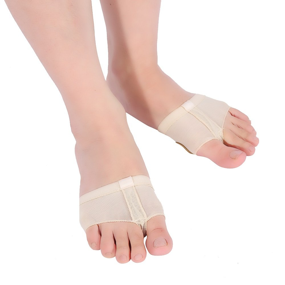 1 Pair Dance Paws Pad, Forefoot Pads Ballet footwear Half Lyrical Shoes Half Toe Sleeve Pads Toe Protector Relieve Cushioning VGEBY