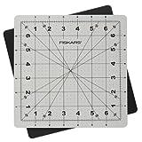 Fiskars 8-Inch by 8-Inch Self Healing Rotating Cutting Mat