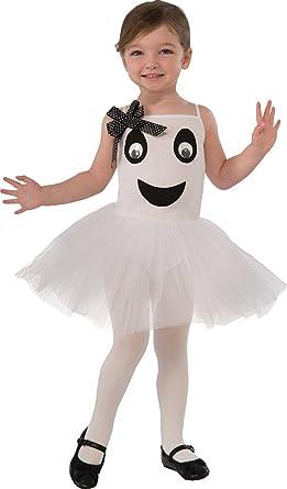 Niña Disfraz de Halloween PRECIOSO Bailarina Fantasma Disfraz Xs ...