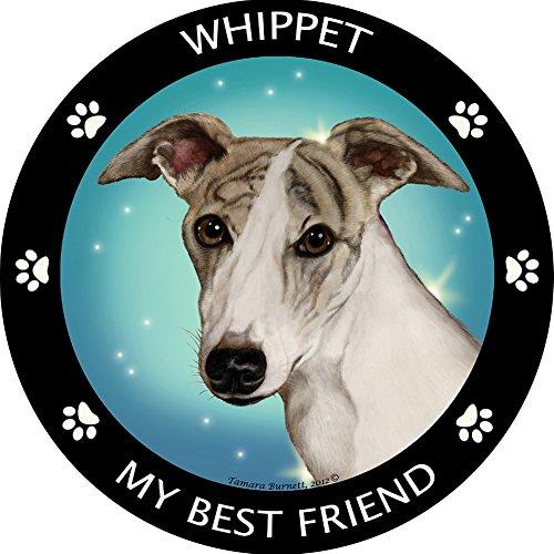 Whippet Dog Magnet - Whippet My Best Friend Magnet