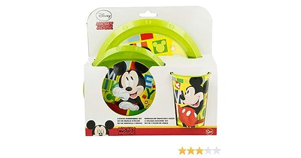 Mickey Mouse 44215 Juego de vajilla set