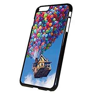 Balloon House Pattern Hard Plastic Pattern Back Case Cover Skin for iphone 6 Plus 5.5 Inch