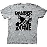 Ripple Junction Archer Danger Zone Adult T-Shirt XL Athletic Heather