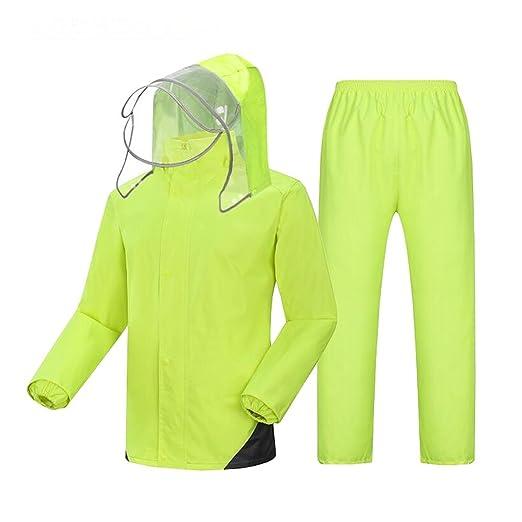 Seba5 Home Impermeable para Adultos Pantalón de Lluvia Traje ...
