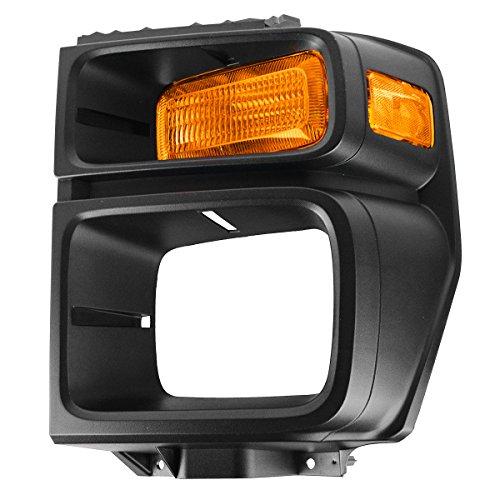 (Headlight Trim Bezel w/Parking Turn Signal Light Lamp Driver LH for 08-12 E150)