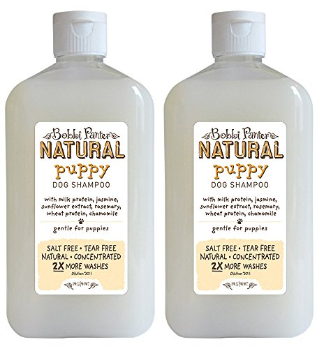 Bobbi Panter Natural Puppy Dog Shampoo, 14-Ounce - Panter.com