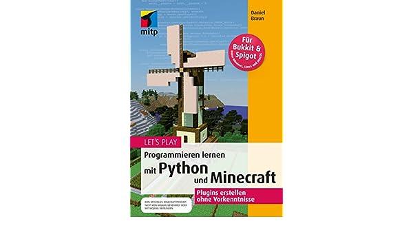 Lets Play Programmieren Lernen Mit Python Und Minecraft Mitp - Minecraft coole einfache hauser