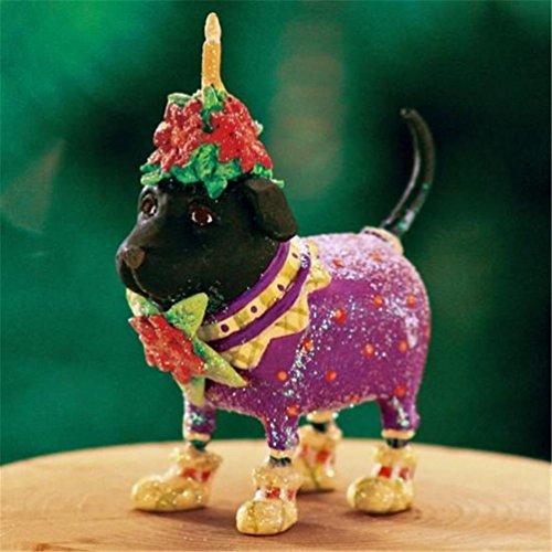 Patience Brewster Krinkles Halloween (Patience Brewster Mini Black Lab Figural Ornament #)