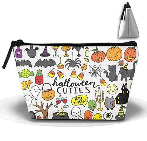 Cute Halloween Clipart Travel Toiletry Bag/Shaving Grooming Kit/Makeup Bag Organizer