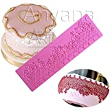 Anyana sugar edible jewels flower cake silicone fondant impression lace mat cake decorating mold gum paste cupcake topper tool icing candy imprint baking moulds sugarcraft daisy