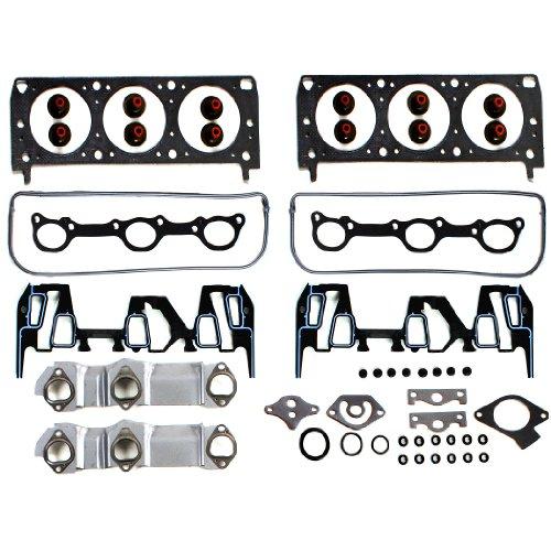 NEW EHG0071G Graphite Cylinder Head Gasket Set for 95-99 GM Car 3.1L 3100 189cid V6 Vin M 95-99 2ND -