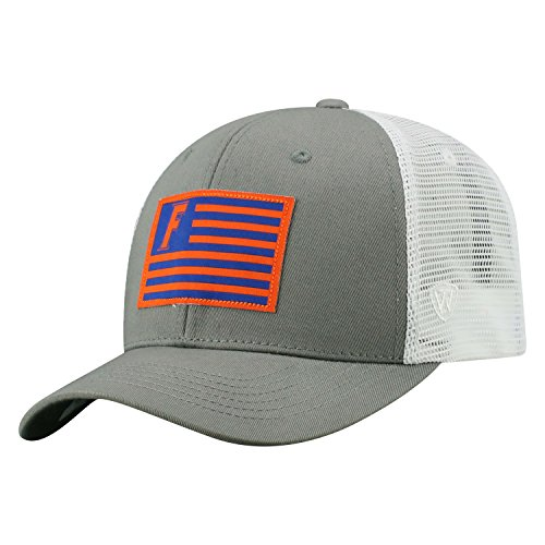 Top of the World Florida Gators Official NCAA Adjustable Brave Cotton Mesh Trucker Hat Cap 416137