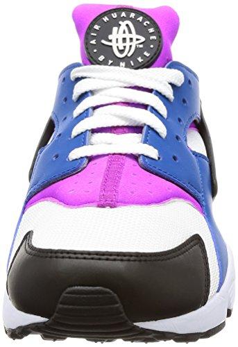 Nike Herren Air Huarache Blue Jay / Weiß-hyper Volt