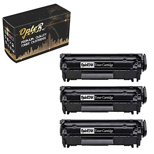 - OpterInk Compatible CB536A Printing Toner Cartridge Replacement for HP Laserjet M1319f Multifunction Printer Toner Cartridge (Black, 3 -Pack)