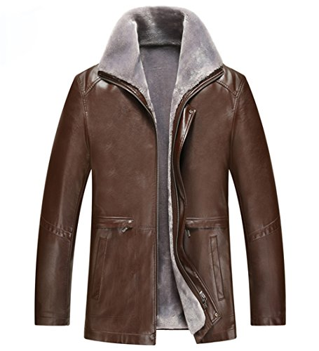 Giacca Grey Uomo Brown Parka Tongzemeng dqwnx7IFRd