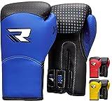 RDX Maya Hide Leather Kids Boxing Gloves 6oz Junior Punch Bag MMA Training Muay Thai Mitts