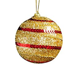 Sequin Glitter Delicate Christmas Tree Hanging Baubles