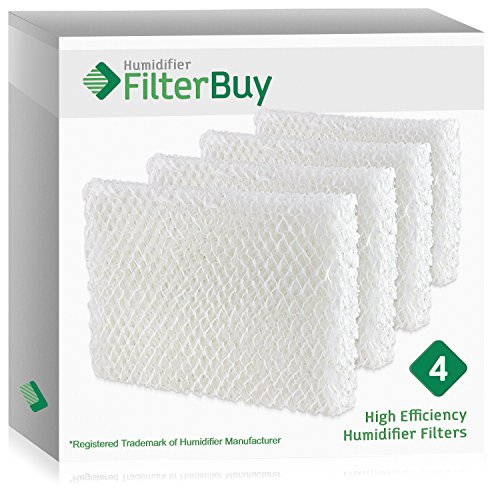 FilterBuy Humidifier Wick Replacement Filters for Lasko Humidifiers. Compare to Lasko Part # THF 8, THF-8, THF8. Pack of 4.