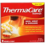 ThermaCare Heat Wraps: Neck, Wrist & Shoulder, 1-Count (Pack of 9)