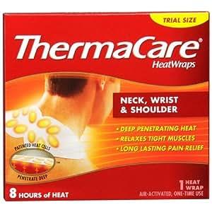 Amazon Com Thermacare Heat Wraps Neck Wrist Amp Shoulder