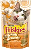 Purina 32681 Friskies Cat Treats Tender Hairball Remedy with Chicken 3-Ounce, My Pet Supplies