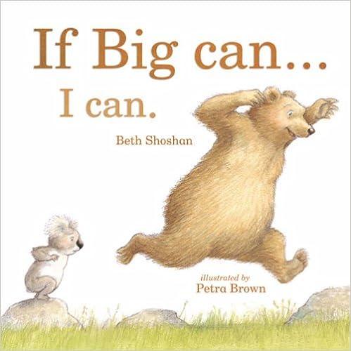 If Big Can... I Can (Mini Board Books)