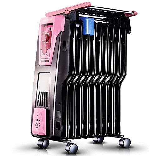 Baobei Calentador de Aceite eléctrico para la Temperatura Constante en el hogar Calentador eléctrico de Ahorro de energía...