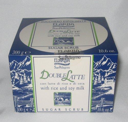 Elariia San Pellegrino Double Latte With Rice & Soy Milk Sugar Scrub, 10.6 oz (300 g)