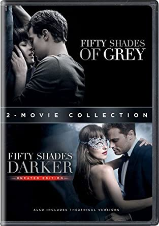 Fifty Shades Of Grey Fifty Shades Darker 2 Movie Collection Amazon Co Uk Dvd Blu Ray