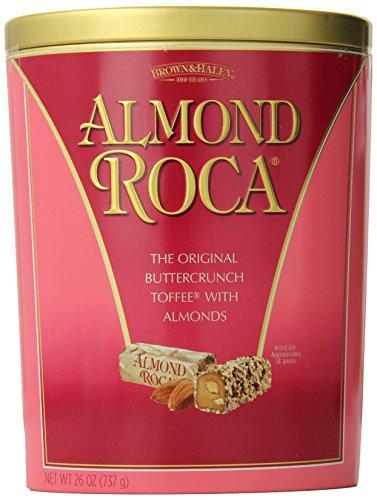 ALMOND ROCA Wow Tin, 26 Ounce (Almond Roca Dark)