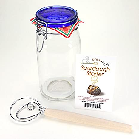 Amazoncom Breadtopia Sourdough Starter Kit Canning Jars Kitchen