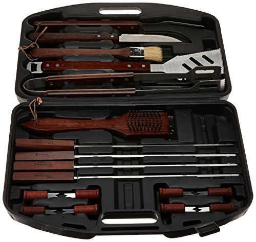 T-Bone Grills TGS-W19 19 Piece Classic Grill Tool Set (Piece 19 Barbeque)
