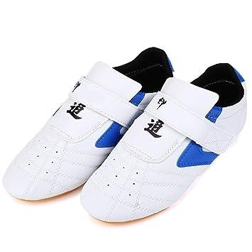 Dilwe Zapatillas de Taekwondo Zapatos de Boxeo de 20 Tallas Equipo de Protección para Pies de Gimnasio para Kung Fu y Taichi: Amazon.es: Deportes y aire ...