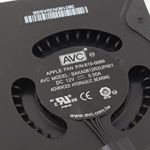 Willhom Laptop CPU Cooling Fan for Apple Mac Mini A1347 2010 2011 2012 610-0069 922-9953 610-0056 922-9557 610-9557 610-0164 BAKA0812R2UP001