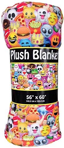 Collage Fleece (iscream 'Emoji Collage' Premium Plush 56