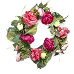 Red-Co-Artificial-Peony-Gargen-Spring-Floral-Natural-Twig-Wreath-Home-Decor-for-Front-Door-or-Indoor-Wall-22