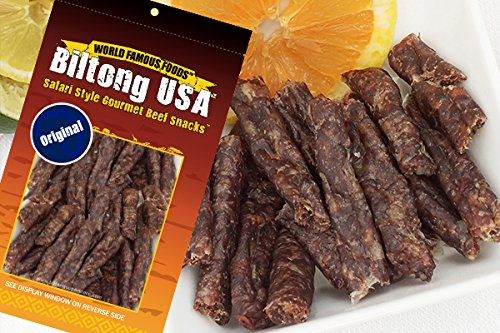 BILTONG STICKS - DROEWORS - Dried Beef Sausage - 2 oz Pack