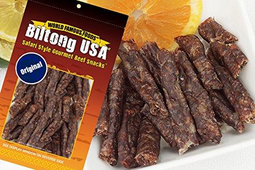 BILTONG STICKS - DROEWORS - Dried Beef Sausage - 2 oz Pack