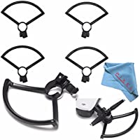 DJI Prop Guard for Spark Quadcopter CP.PT.000787 + Fibercloth Bundle
